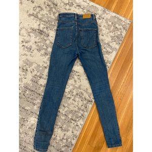 Zara Jeans - ZARA Medium Wash Denim- high-rise